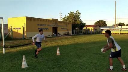À espera da Série D 2020, Eduardo Echeverria mantém forma física no estádio Felipão