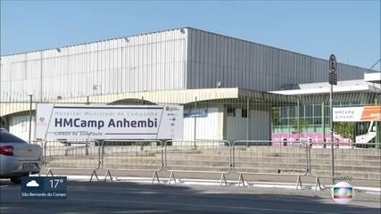 Prefeitura da capital decide desativar parte do hospital de campanha do Anhembi