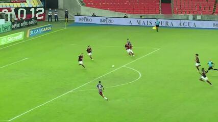 Marcos Paulo perde gol importante na final contra o Flamengo