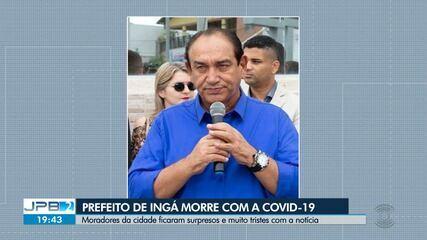 Prefeito de Ingá morre vítima de Covid-19, no Agreste da Paraíba