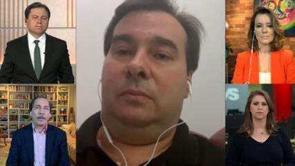 'É preciso criminalizar a proliferação de fake news', afirma Rodrigo Maia