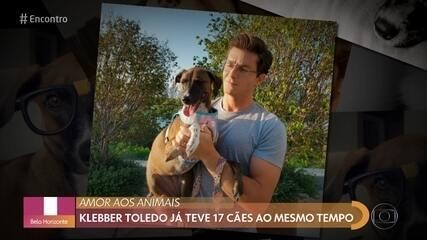 Klebber Toledo fala sobre paixão por animais