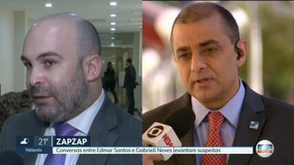 Conversas entre Edmar Santos e Gabriell Neves levantam suspeitas sobre interferência na Secretaria de Saúde