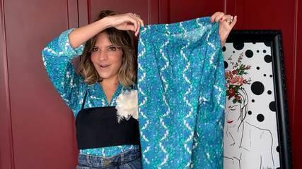 Aprenda a criar looks com o pijama para o dia a dia
