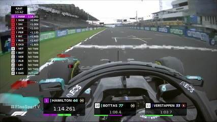 Lewis Hamilton quebra recorde com 1:14:261 no Q2