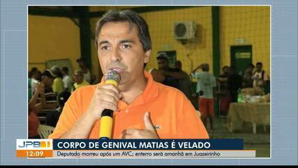 Deputado estadual Genival Matias morre após AVC