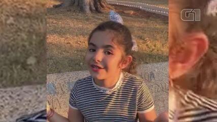 Menina de 9 anos realiza ação que já doou R$ 2 mil para a Santa Casa de Guaranésia (MG)