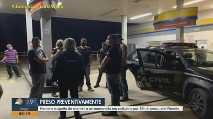 Homem suspeito de manter a ex-namorada em cativeiro é preso preventivamente em Viamão