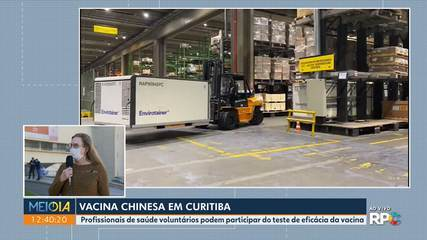 Vacina chinesa contra o coronavírus será testada em Curitiba