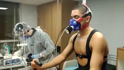 Veja entrevista com o médico Fabricio Braga sobre o uso de máscaras na prática esportiva
