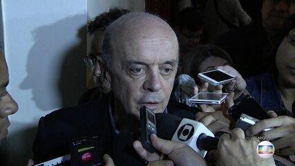 Senador José Serra é novamente alvo de operação da Lava Jato