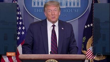 Trump admite que número de casos e mortes por Covid-19 pode piorar nos EUA