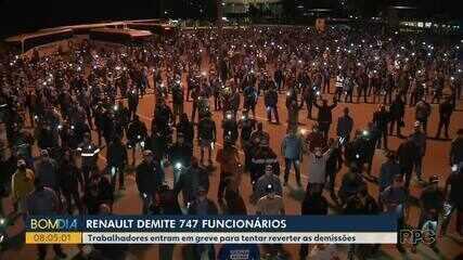 Renault demite 747 funcionários