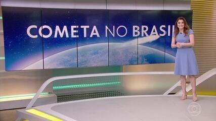 Cometa Neowise, descoberto pela Nasa em março, pode ser visto no Brasil