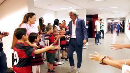 Veja o vídeo que Jorge Jesus postou para se despedir do Flamengo