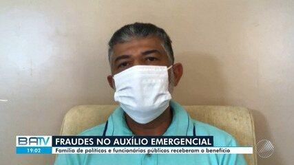 Família de políticos e funcionários públicos comentam recebimento do auxílio emergencial