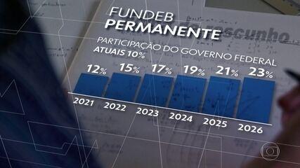 Presidente do Senado pretende concluir ainda em agosto a votação do novo Fundeb