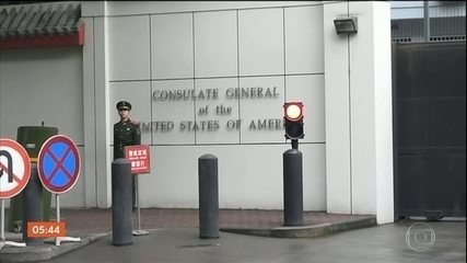 China ordena o fechamento de consulado americano no sudoeste do pais