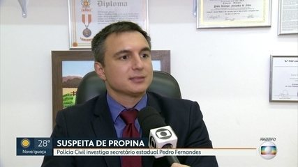 Polícia Civil investiga secretário estadual de Educação Pedro Fernandes
