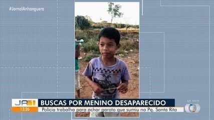 Polícia investiga desaparecimento de criança no Parque Santa Rita, em Goiânia