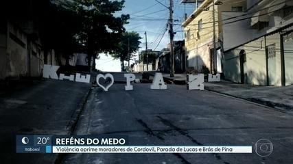 Violência oprime moradores de Cordovil, Parada de Lucas e Brás de Pina