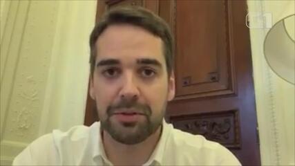 Governador agradece mensagens de apoio após diagnóstico de Covid-19