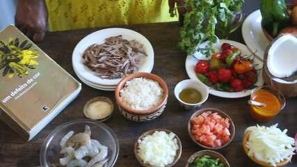 Cozinheira Angélica Moreira resgata a cultura africana através da culinária