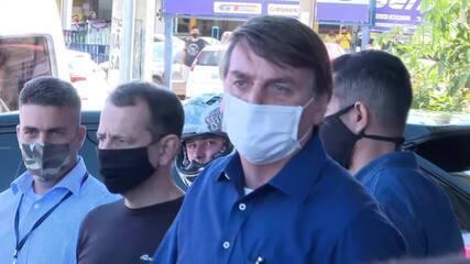 Bolsonaro diz que não sentiu 'nada' e que só soube que contraiu coronavírus após teste