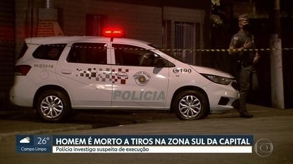 Polícia investiga um homicídio em Cidade Ademar, na zona sul da capital