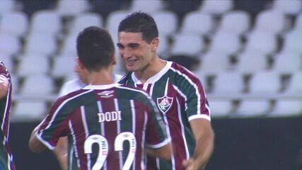 O gol de Fluminense 1 x 0 Botafogo em amistoso