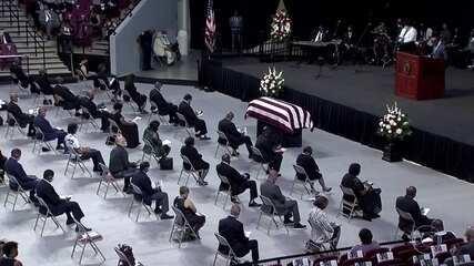 Começam as cerimônias de despedida de John Lewis, nos EUA
