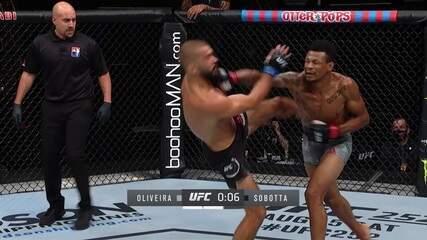 Melhores Momentos Alex Cowboy x Peter Sobotta no UFC Whittaker x Till