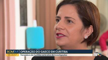 Gaeco cumpre mandados de busca e apreensão em gabinete de vereadora de Curitiba