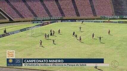 Assista aos gols da vitória do Uberlândia sobre o Villa Nova-MG