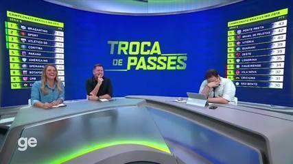 Veja momentos descontraídos de Rodrigo Rodrigues nos programas do SporTV