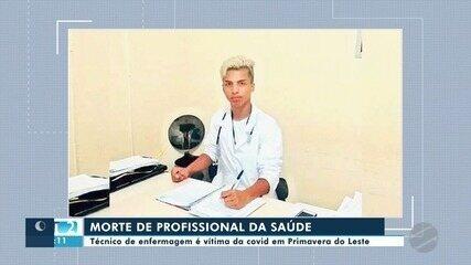 Técnico em enfermagem de 22 anos morre de Covid em Primavera do Leste