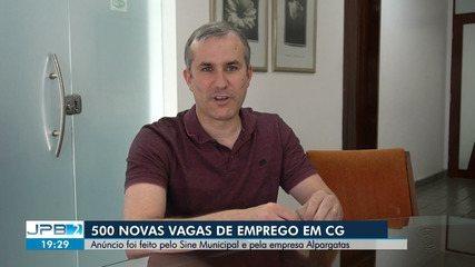 Cerca de 500 novas vagas de emprego são oferecidas em Campina Grande