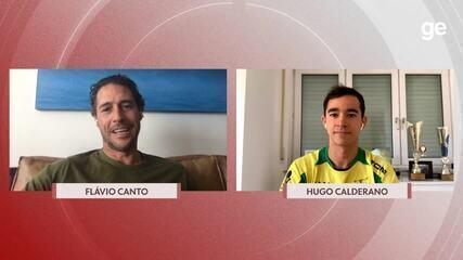 Chamada olímpica: Flávio Canto entrevista Hugo Calderano, do tênis de mesa