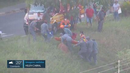 Criança fica ferida após cair dentro de córrego em Campinas
