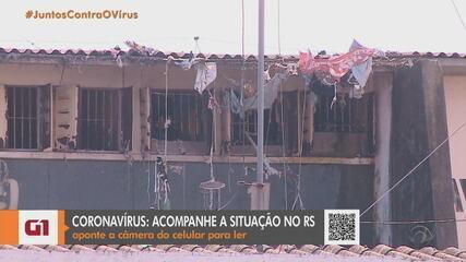 Justiça interdita parte da Penitenciária Estadual de Rio Grande por surto de Covid-19