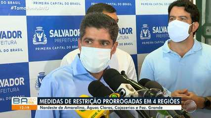 Bairros de Salvador têm medidas de restrições prorrogadas; confira