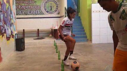 Atletas da região comentam a ansiedade pela retomada do futebol feminino com o São Paulo
