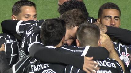 Os gols de Bragantino 0 x 2 Corinthians pelo Campeonato Paulista