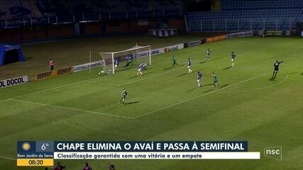 Campeonato catarinense: Brusque, Chapecoense, Criciúma e Juventus são os semifinalistas