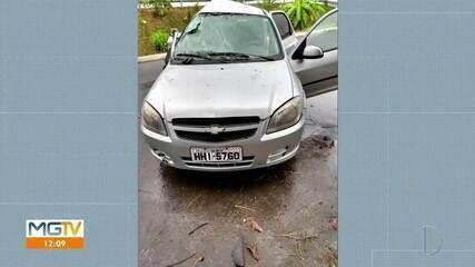 Polícia localizada em Governador Valadares carro roubado em Betim