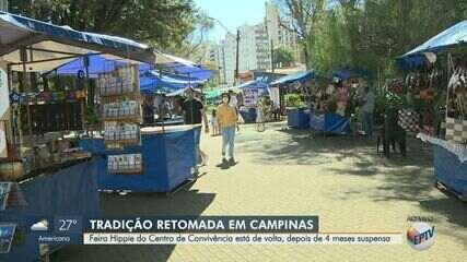 Coronavírus: Feira Hippie retoma atividades sob novas normas sanitárias em Campinas