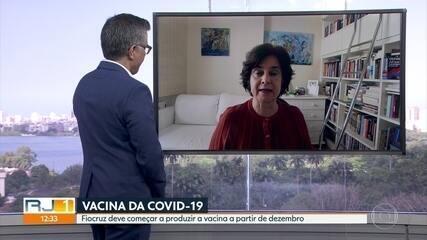 Fiocruz assina termo inédito para produção da vacina da Covid-19 no Brasil.