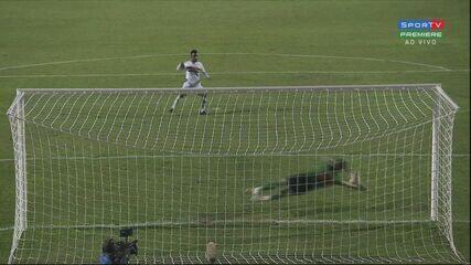 Gols e decisão por pênaltis entre Bragantino e Botafogo-SP, pelo Troféu do Interior