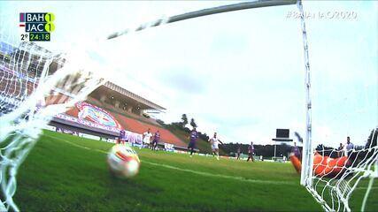 Assista aos melhores momentos de Bahia 2 x 2 Jacuipense, pelas semi do Campeonato Baiano