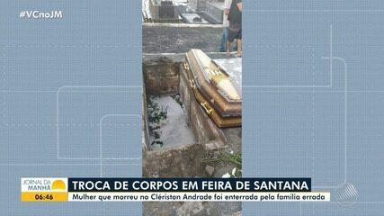 Corpos de vítimas de Covid-19 são trocados no Hospital Geral Clériston Andrade